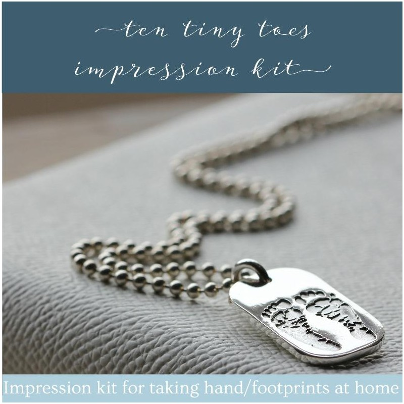 Ten Tiny Toes Impression Kit