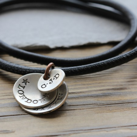 Men's Flippy Disk Necklace