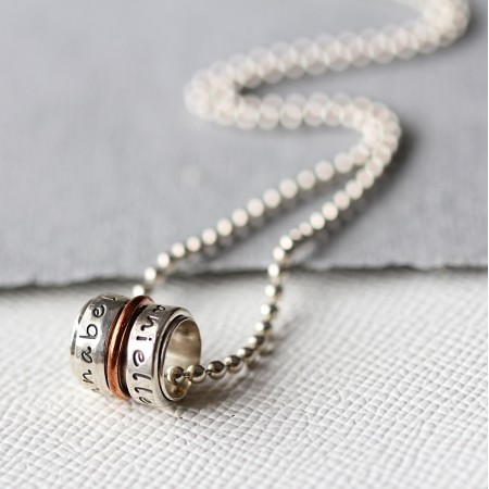 Spinner Necklace