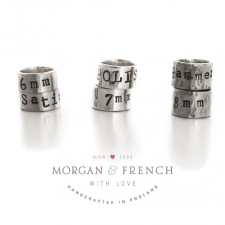 Individual Personalised Silver Story Beads
