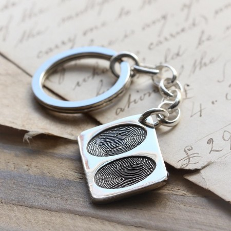 Double FingerPrint Keyring