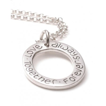Personalised Cluster Ring Pendant
