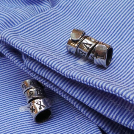 Personalised Cufflinks with a Twist