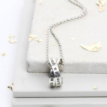 Personalised Men's Rumours Necklace