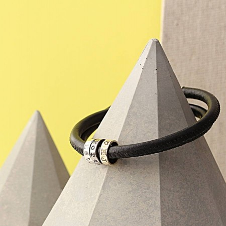 Three Ring Story Bracelet