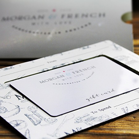 Morgan and French Gift Cards