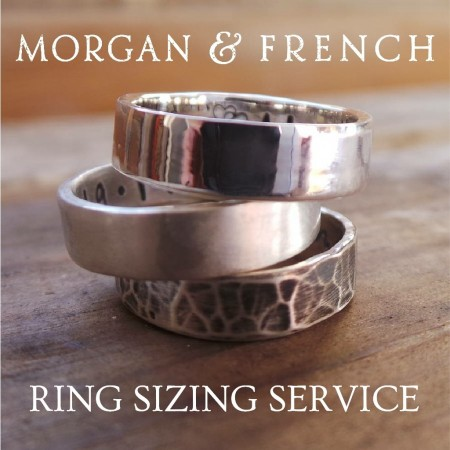 Resizing Morgan and French Personalised Ring