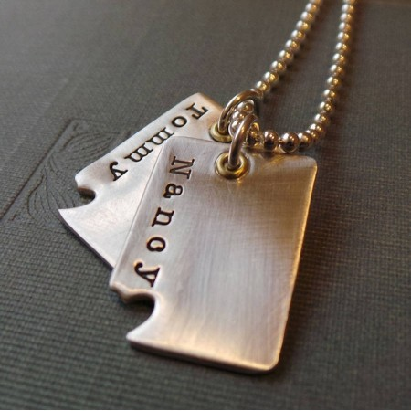 Piece Of My Heart Dog Tags