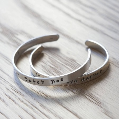 Childs Personalised Wish Bangle