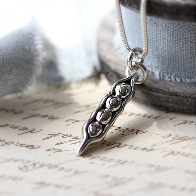 Pea in a Pod Necklace