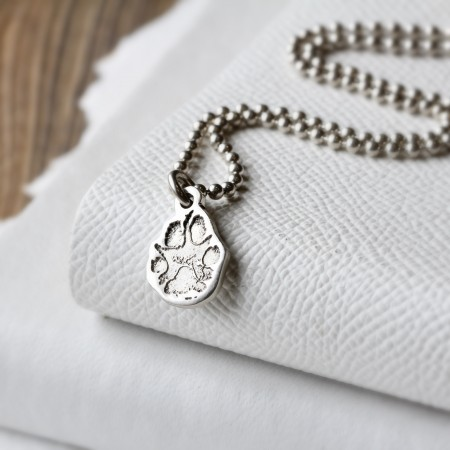Snozza Paw Print Necklace