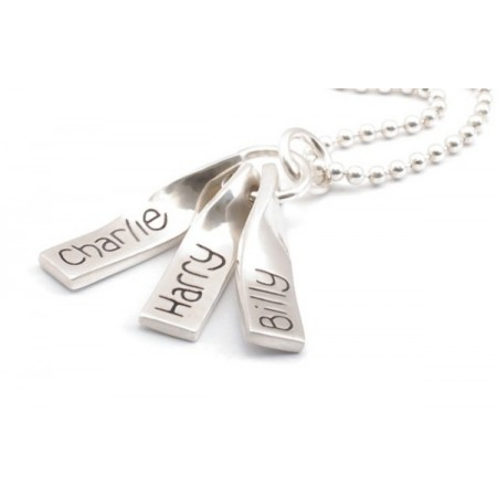Silver Ribbon On A Chain